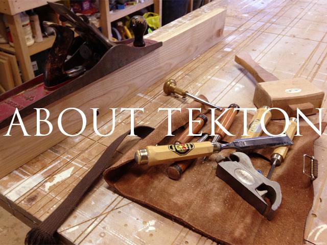 about tekton carpentry & design - bespoke furniture makers Brighton Sussex