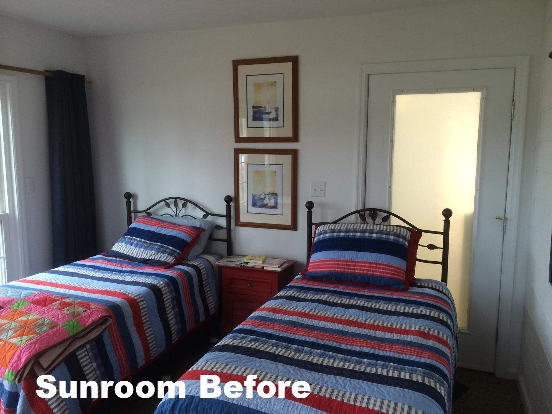 Sunroom Before