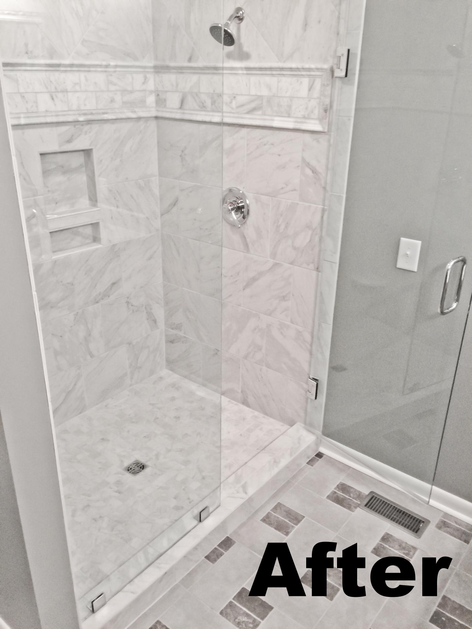 Master Shower After