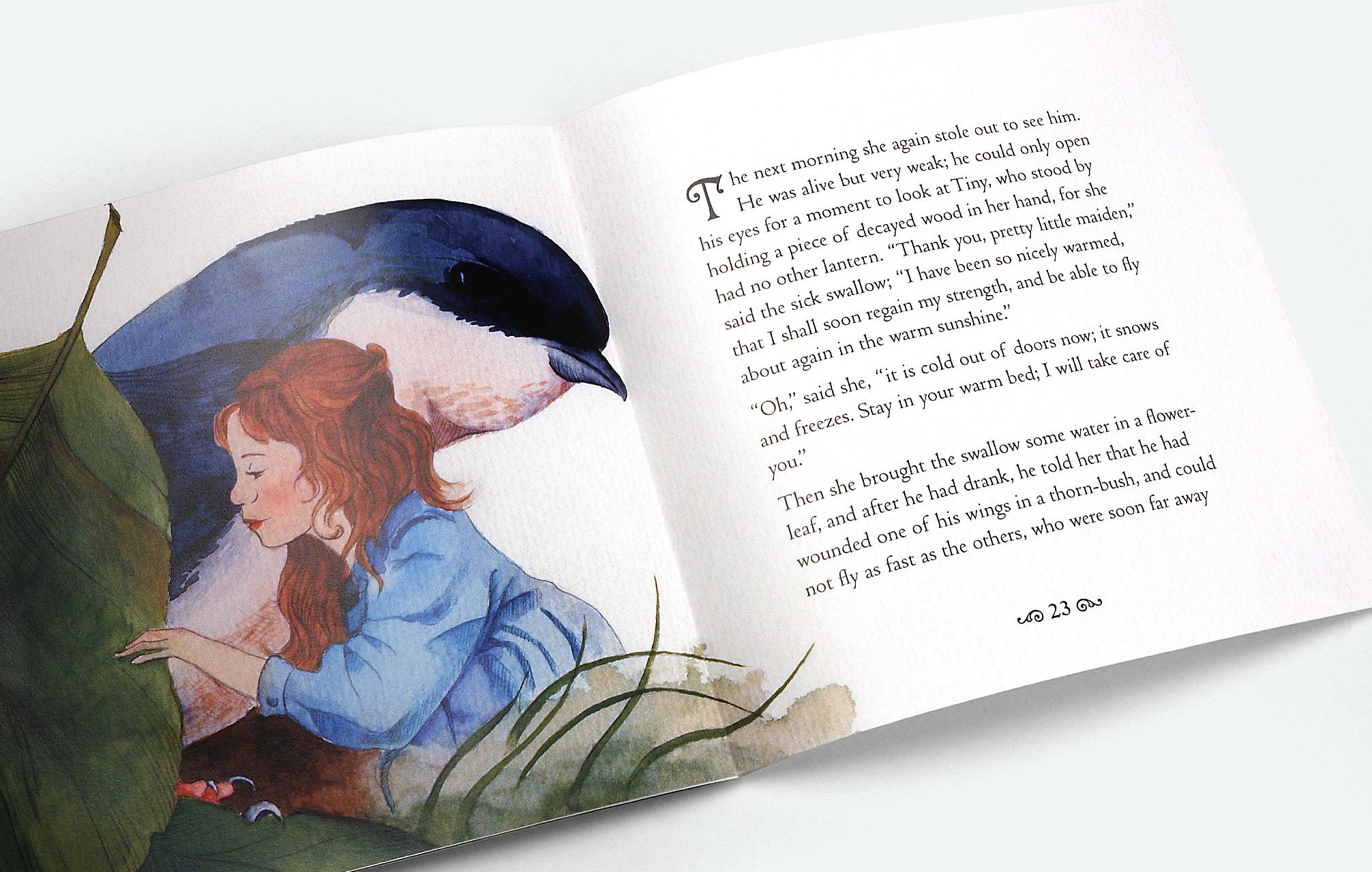 THUMBALINA / book design & illustration
