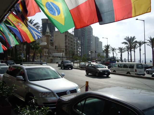 Beirut, Lebanon - The Corniche Seaside Promenade