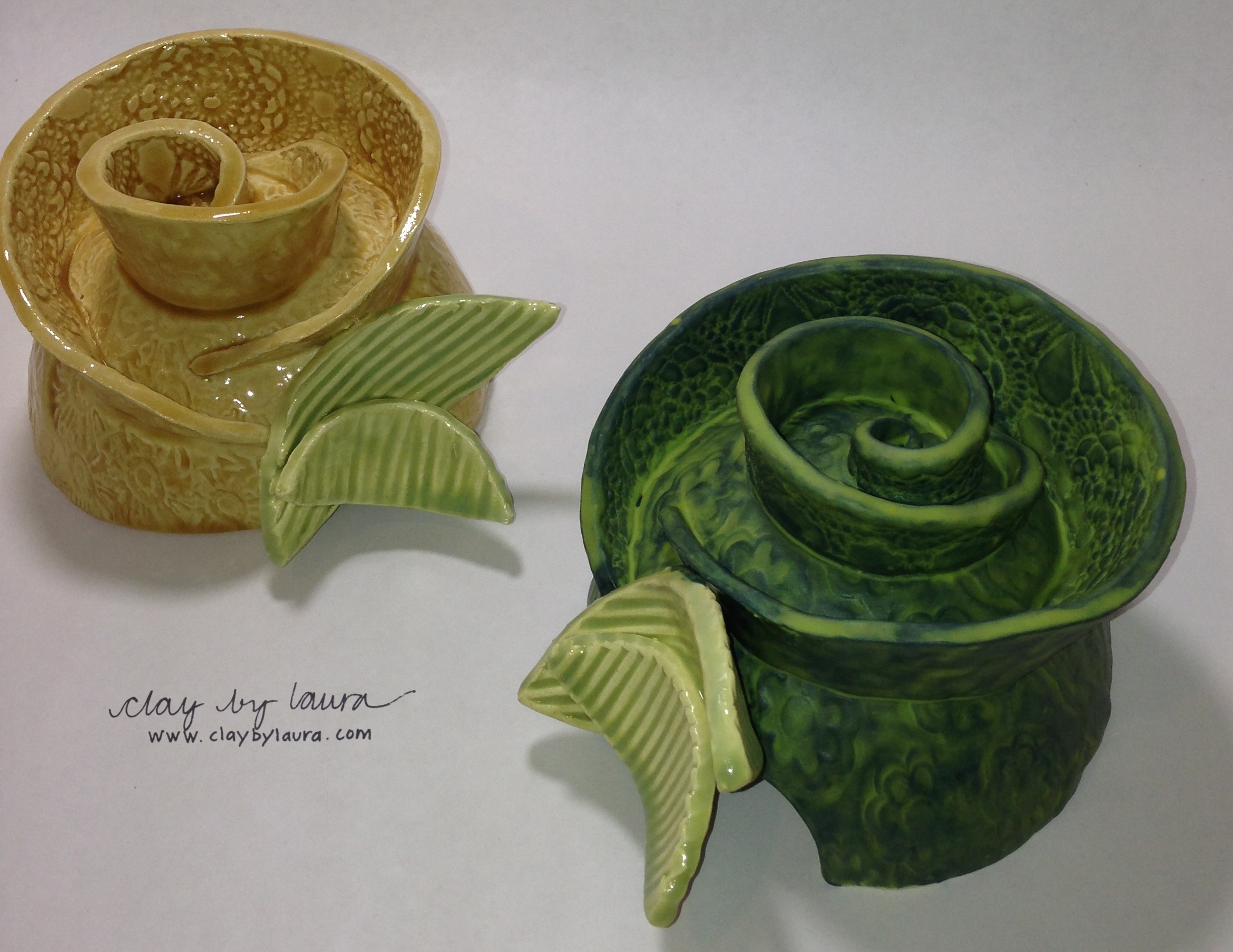 I completed a glaze firing this week. Here are some custom 'Toad Abodes' that are on their way to Bluffton, SC.