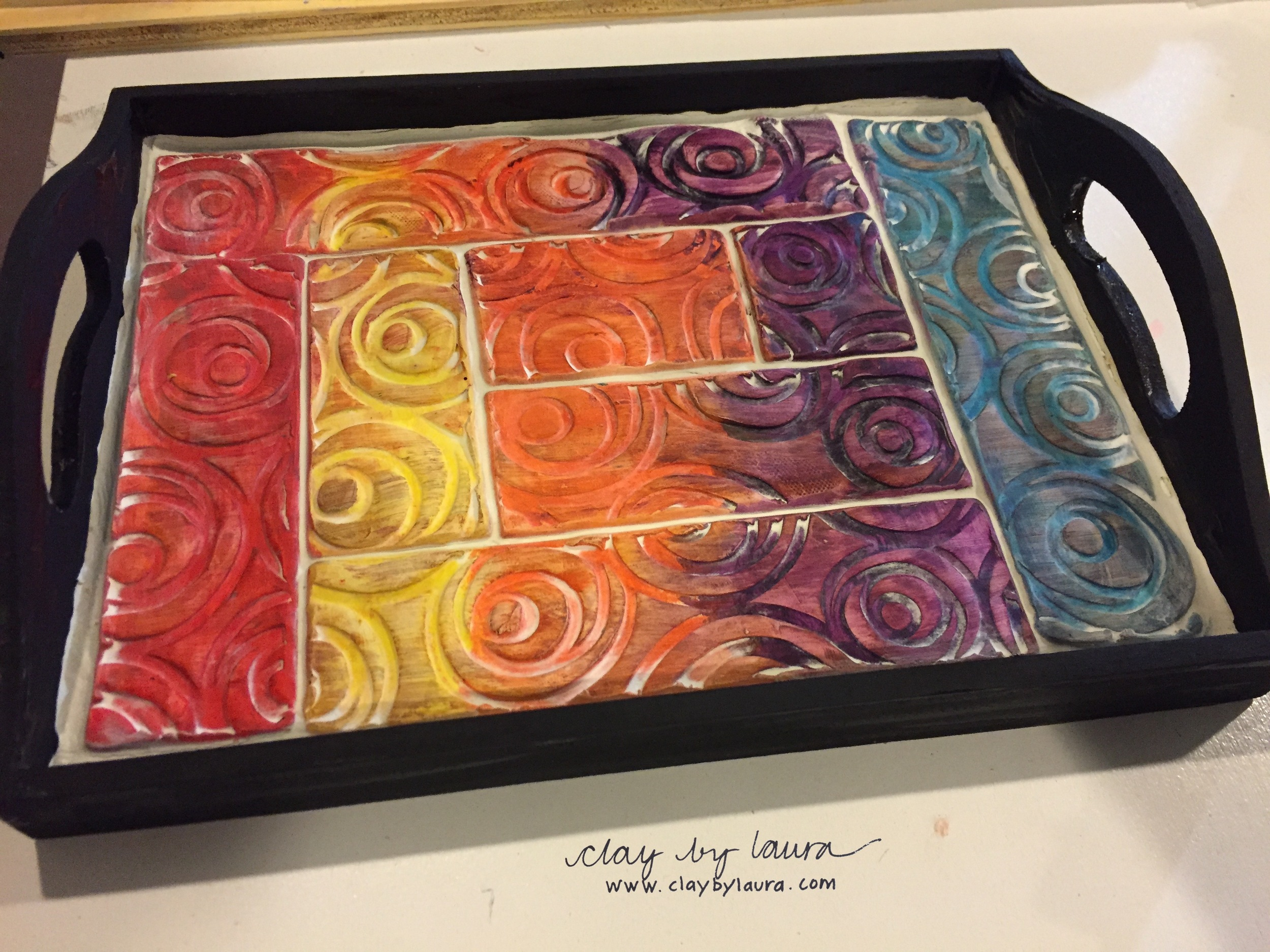 Want to make a tray like this? You can! I've made and assembled all the necessary materials -- so join me November 8 at my studio for an afternoon of fun and creativity. Contact  The Muse  to register. Space is limited, so make your plans soon!