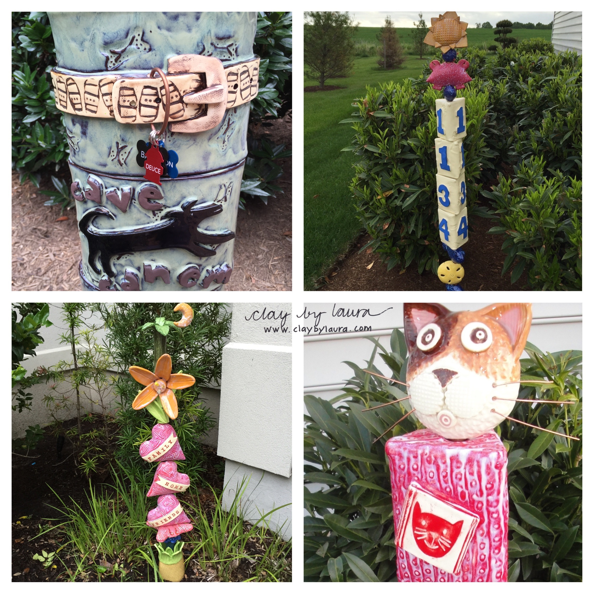 I was fortunate to create a variety of totem stacks for people throughout the country in 2015. Each was a labor of love and a lot of fun to make! Do you have an idea for a custom totem?