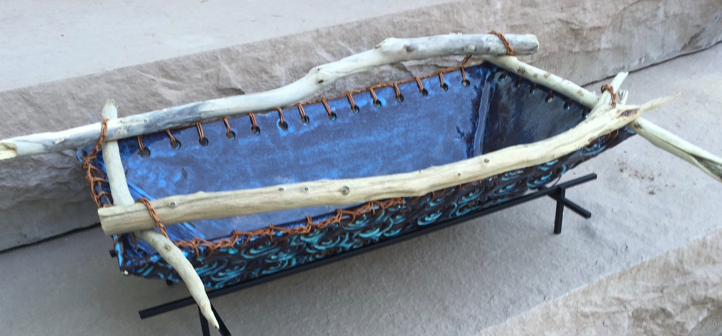 This driftwood basket is one of several I've completed this past week that will be available for sale at  The Cooley Gallery  in Leesburg, Va.