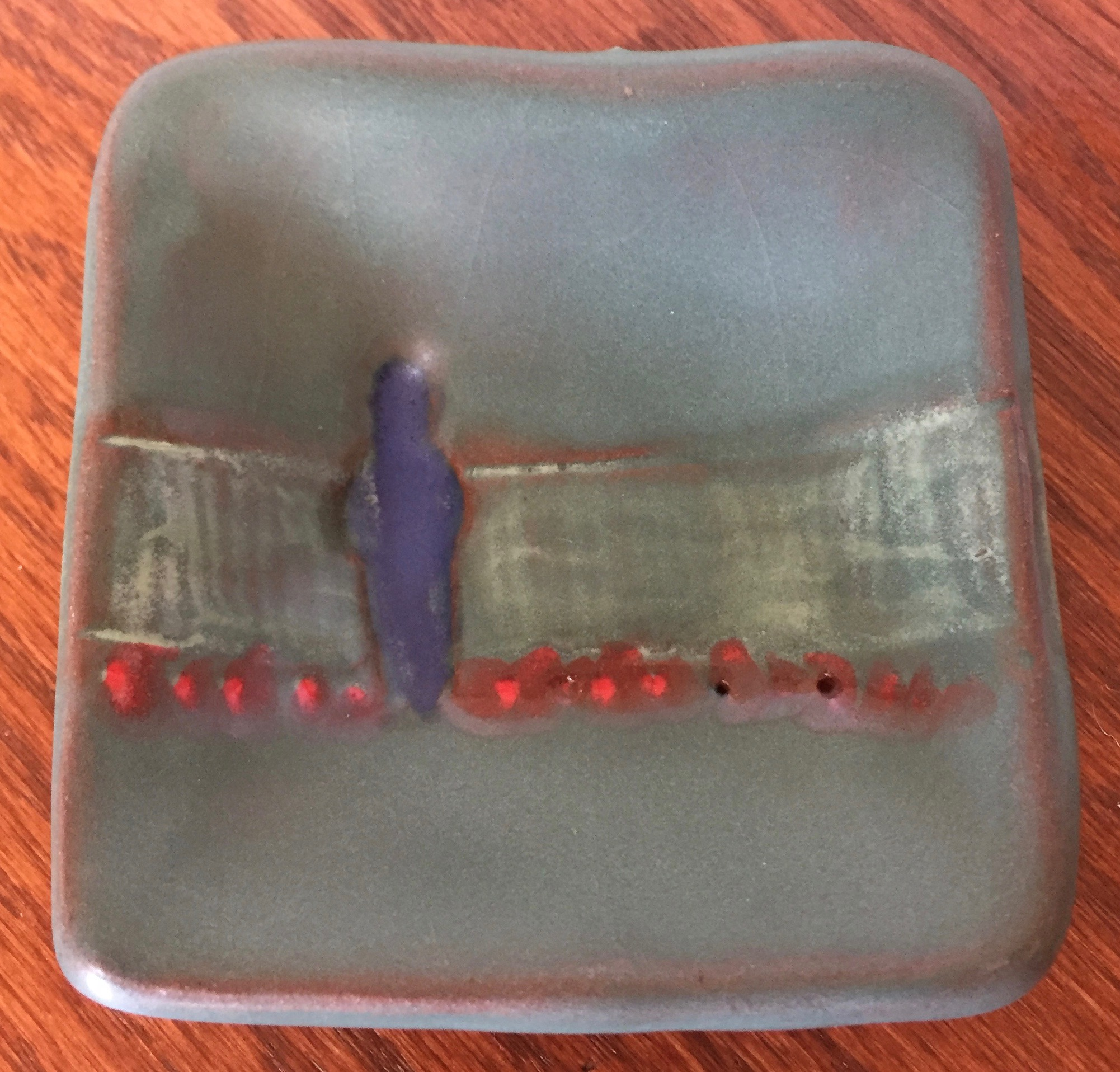 This small Lisa Neimeth dish is one of the treasures I purchased on my Alabama trip.