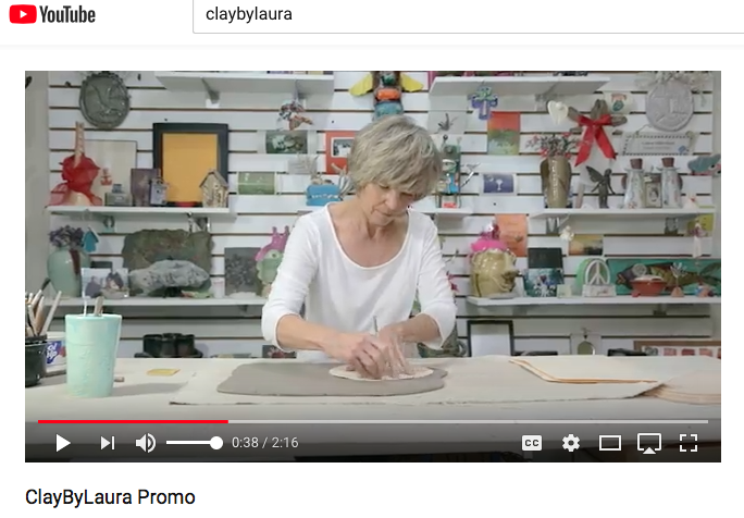 Get a peek behind the scenes at ClayByLaura with this brand new promotional video! Click on this image to view.