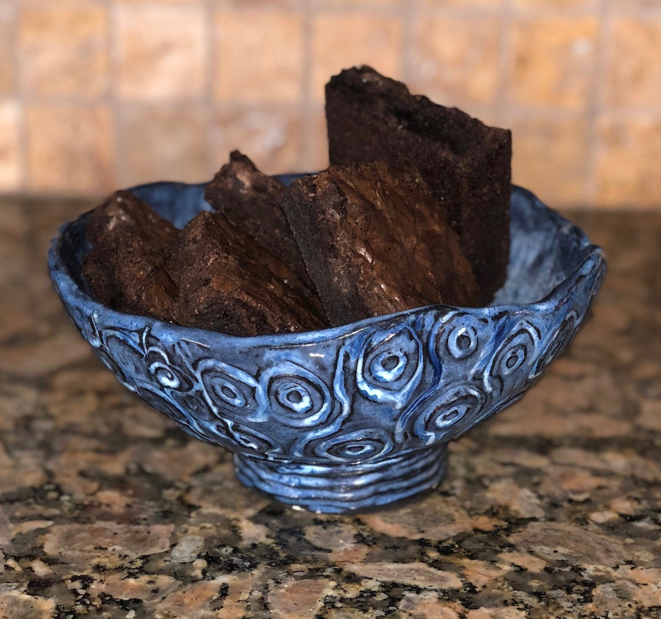 Brownies were the dessert of choice for last night's game!