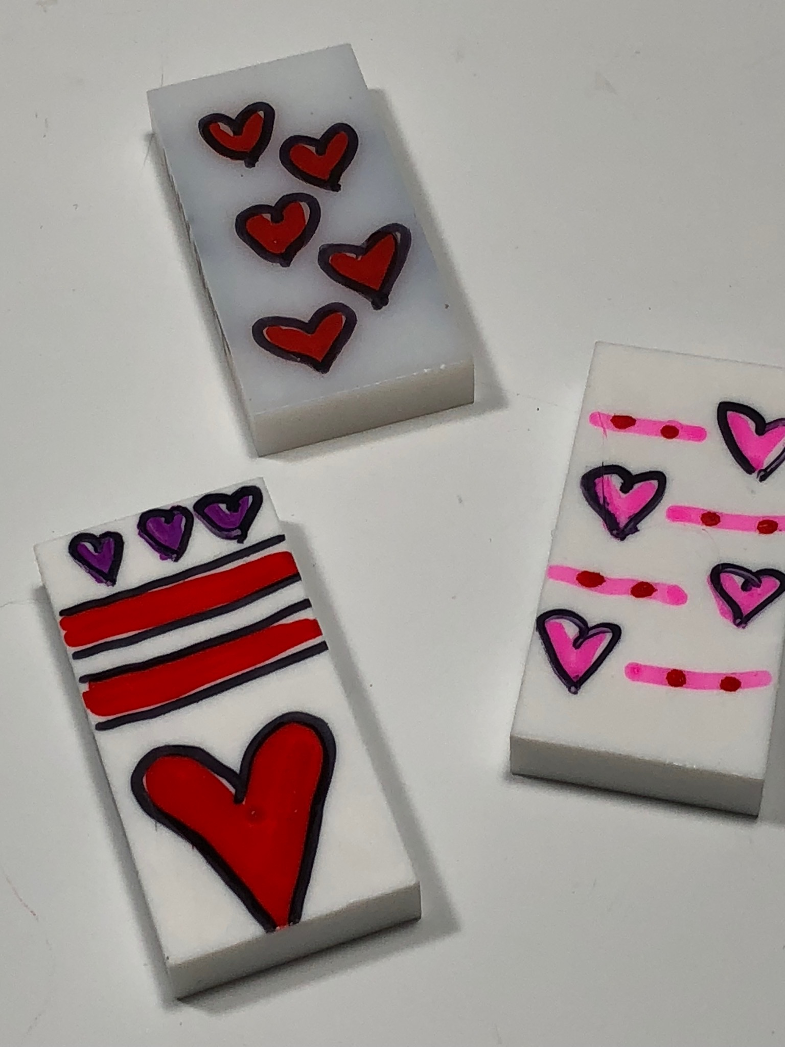 Do you remember these? I made these 'LUVBOTS' for my valentines in February 2014. They were the subject of one of my very first blog entries. As always, I love to hear your feedback. Click the photo to send me a message!