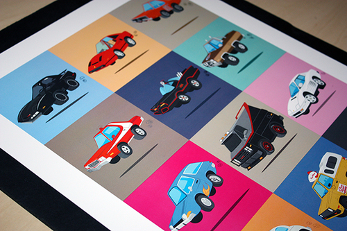 All 15 of the series to date shown on my recent poster. You can view the entire series on my portfolio page.