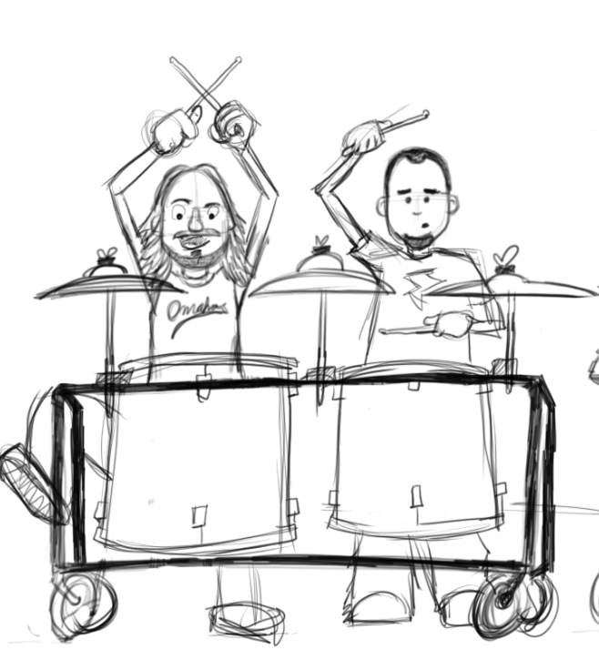 Rough sketch of Tim and SA.