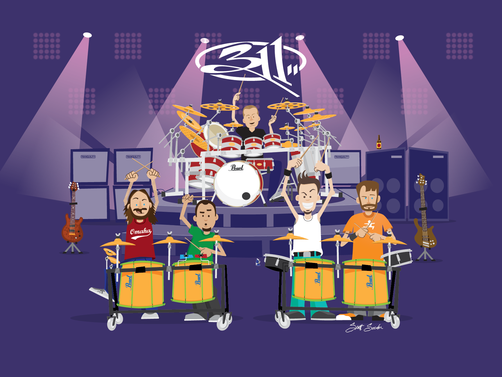 311 Applied Science Tee Art