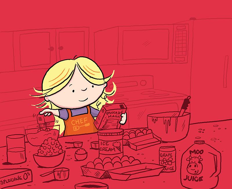 Flapjack Jane Cooking