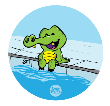 Level 1 - Water Safety - J Swim School Gator