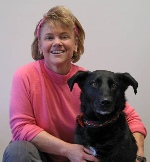 Allison Henry and Jassy completing their test to become an animal assisted therapy dog.jpg