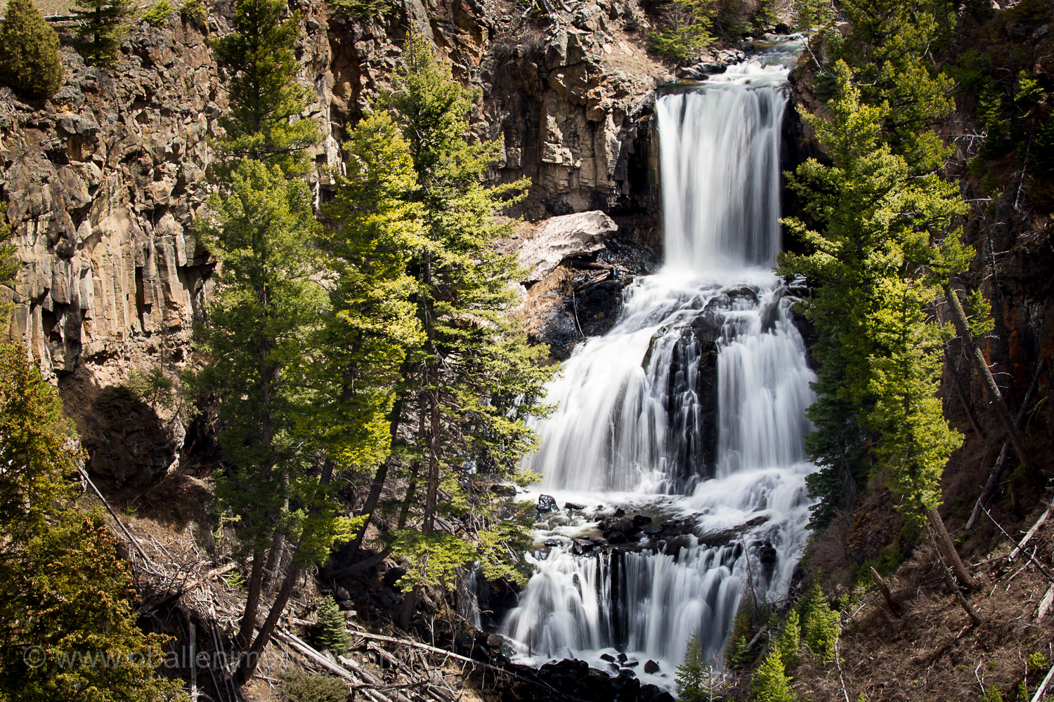 Undine Falls was one of the falls that you can view early in the year.