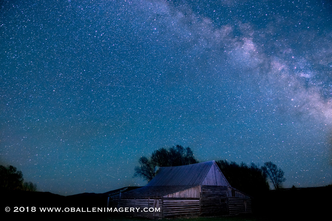 I attempted my first Milky Way photo.