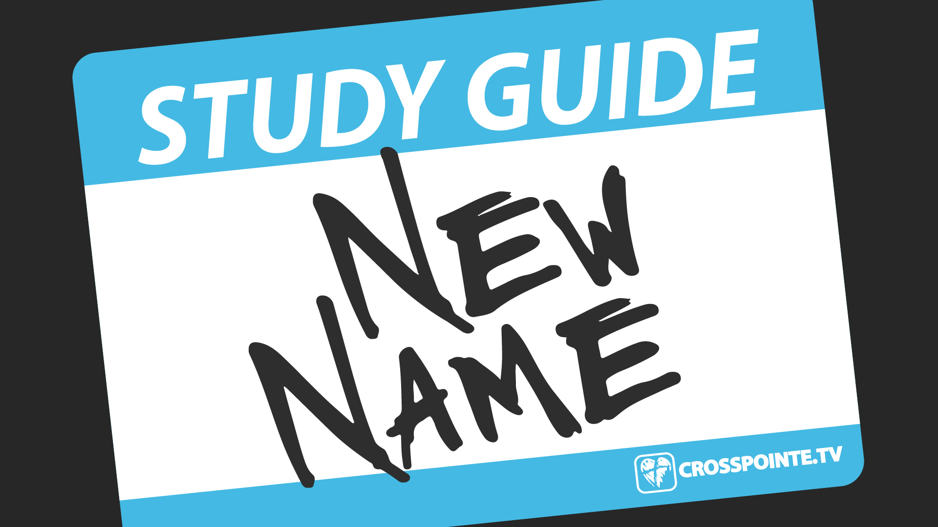 Download the 4 week study guide for the New Name series here!