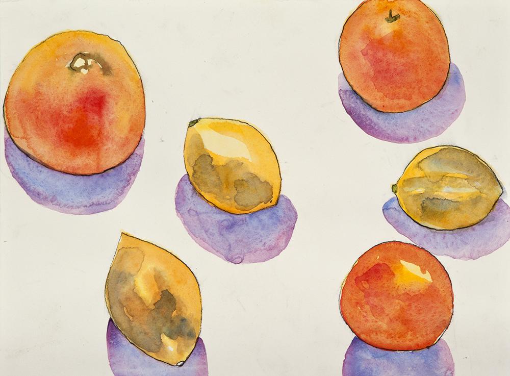 Still Life Oranges Lemons