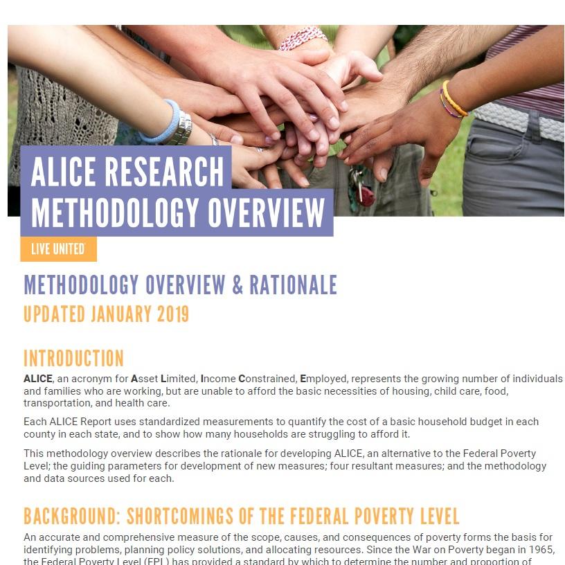 METHODOLOGY OVERVIEW -
