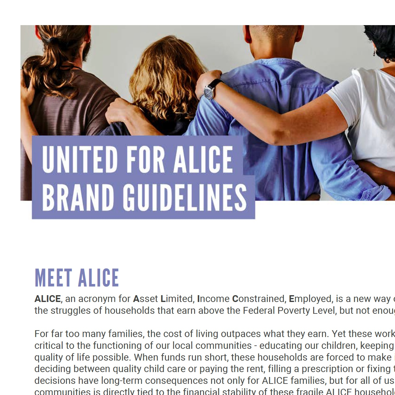 ALICE BRAND GUIDELINES -