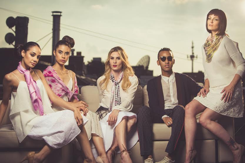 Pardeep, Katerina, Kathleen, Tyler, Kehli shot by Shayne Gray