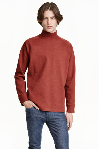 Turtleneck sweatshirt H&M