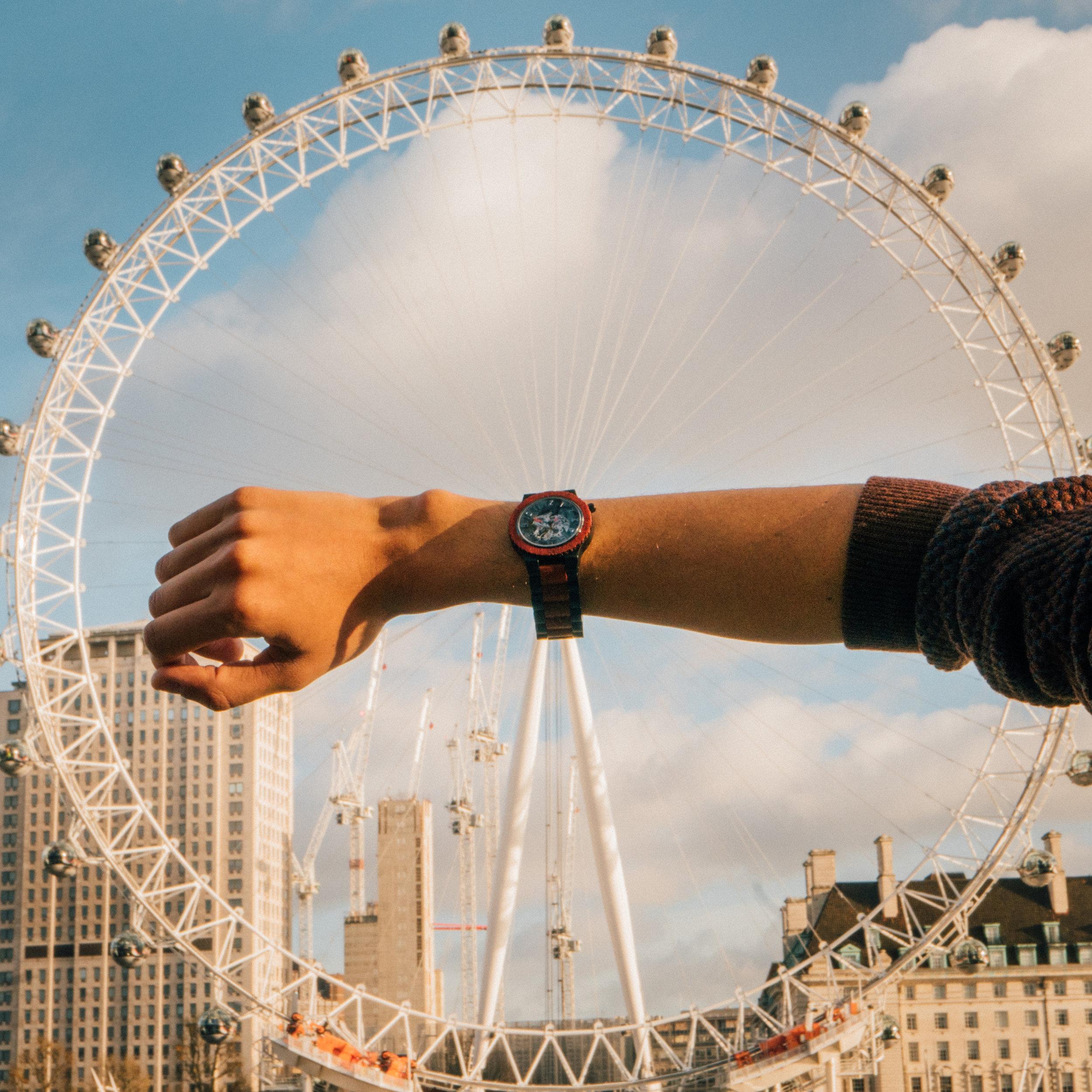 Tyler Kenny London Eye Jord Watches