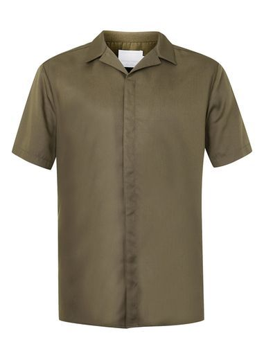 Topman Revere collar shirt