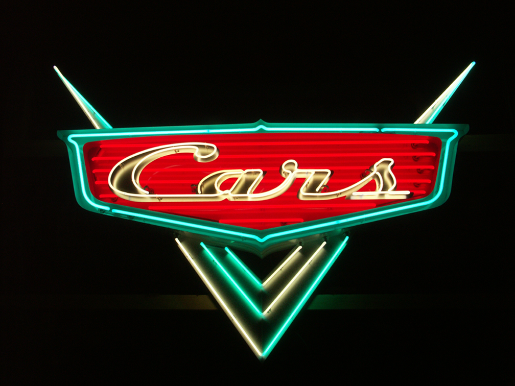 Cars neon for Pixar, Emeryville, CA