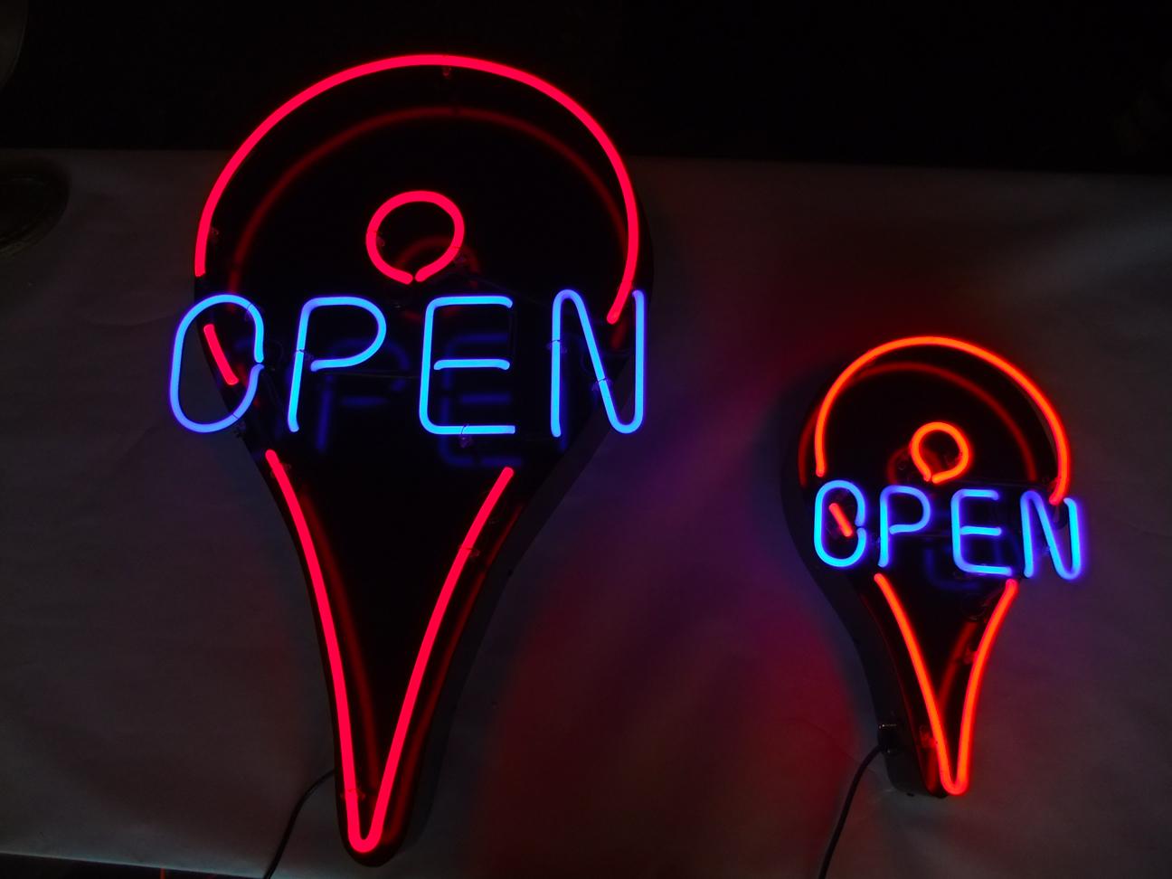 Google Open Pins