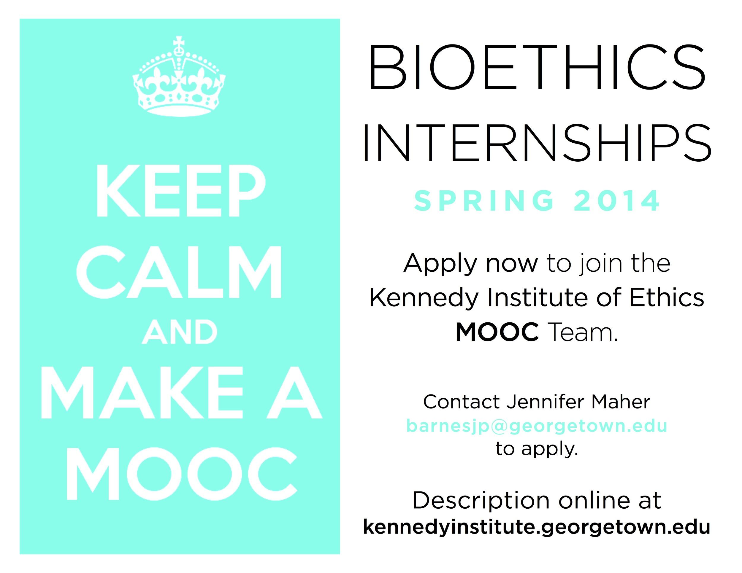 Bioethics MOOC Internships Poster 1 - Keep Calm.jpg
