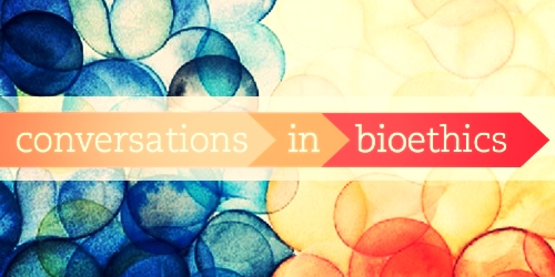 "Conversations in Bioethics is an annual campuswide series we call an ""anti-event"" because  it joins student work with expert panelists for a semester-spanning, powerful conversation about a critical  bioethics  issue."