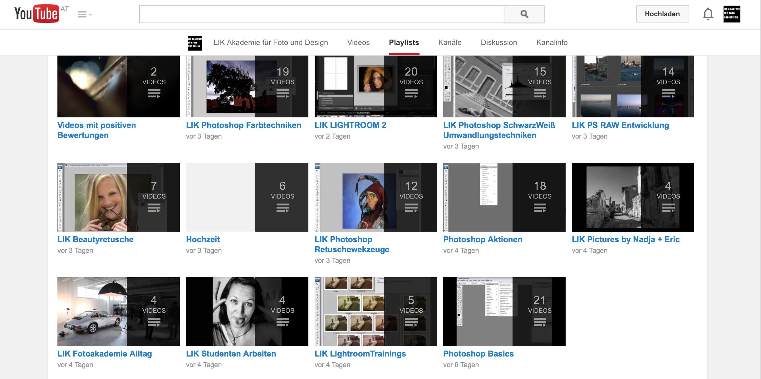 Kostenlose Trainingsvideos von Eric Berger im  LIK Akademie YouTube Channel
