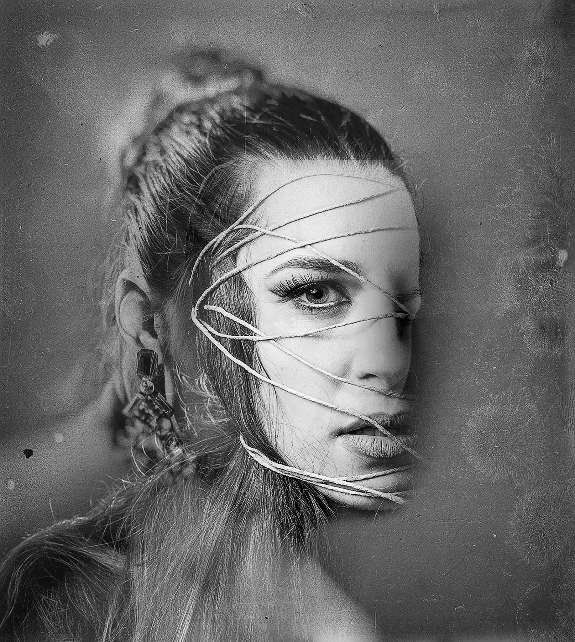 Roped Face Copyright by Eric Berger