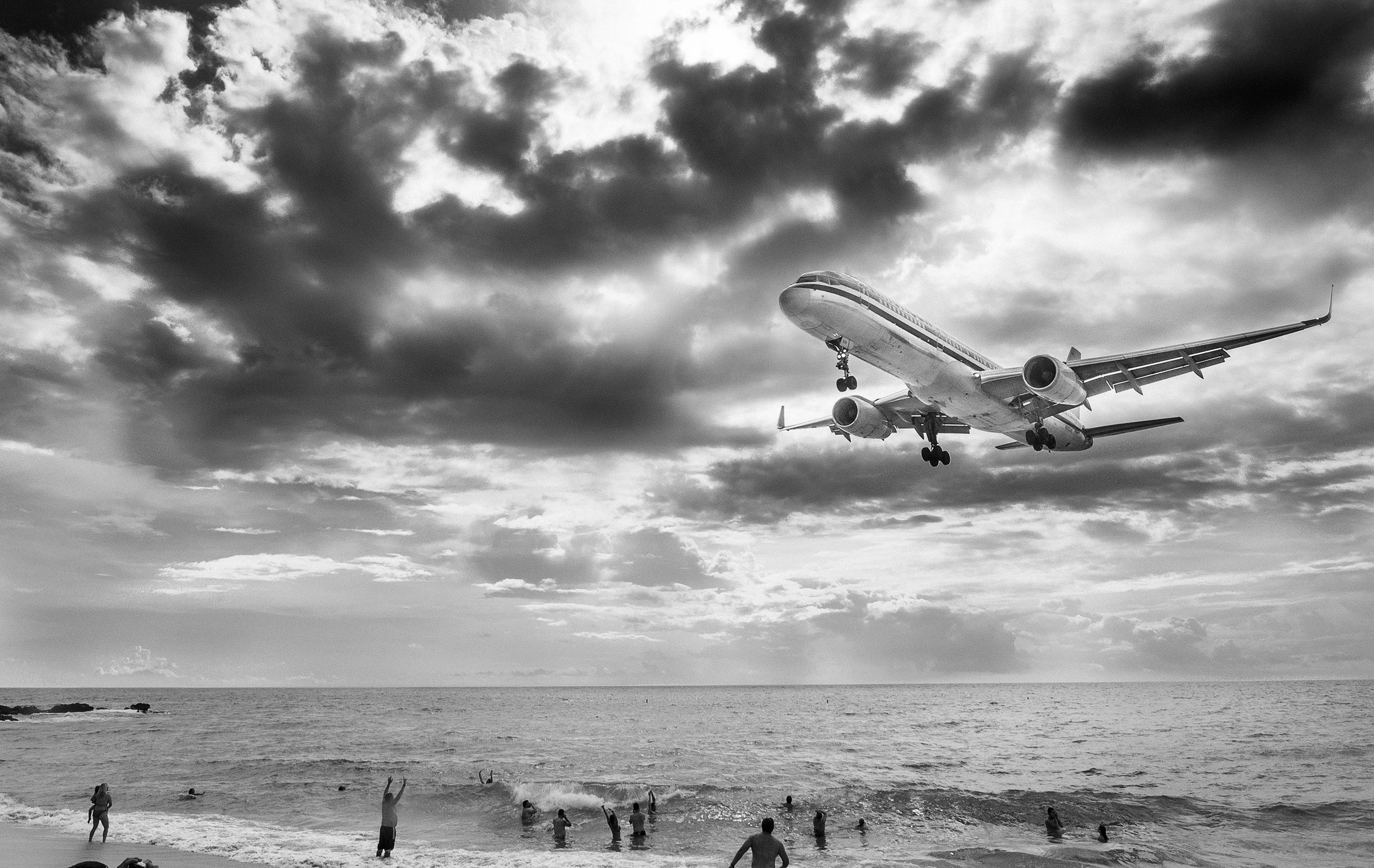 Maho Beach Saint Marteen by Eric Berger