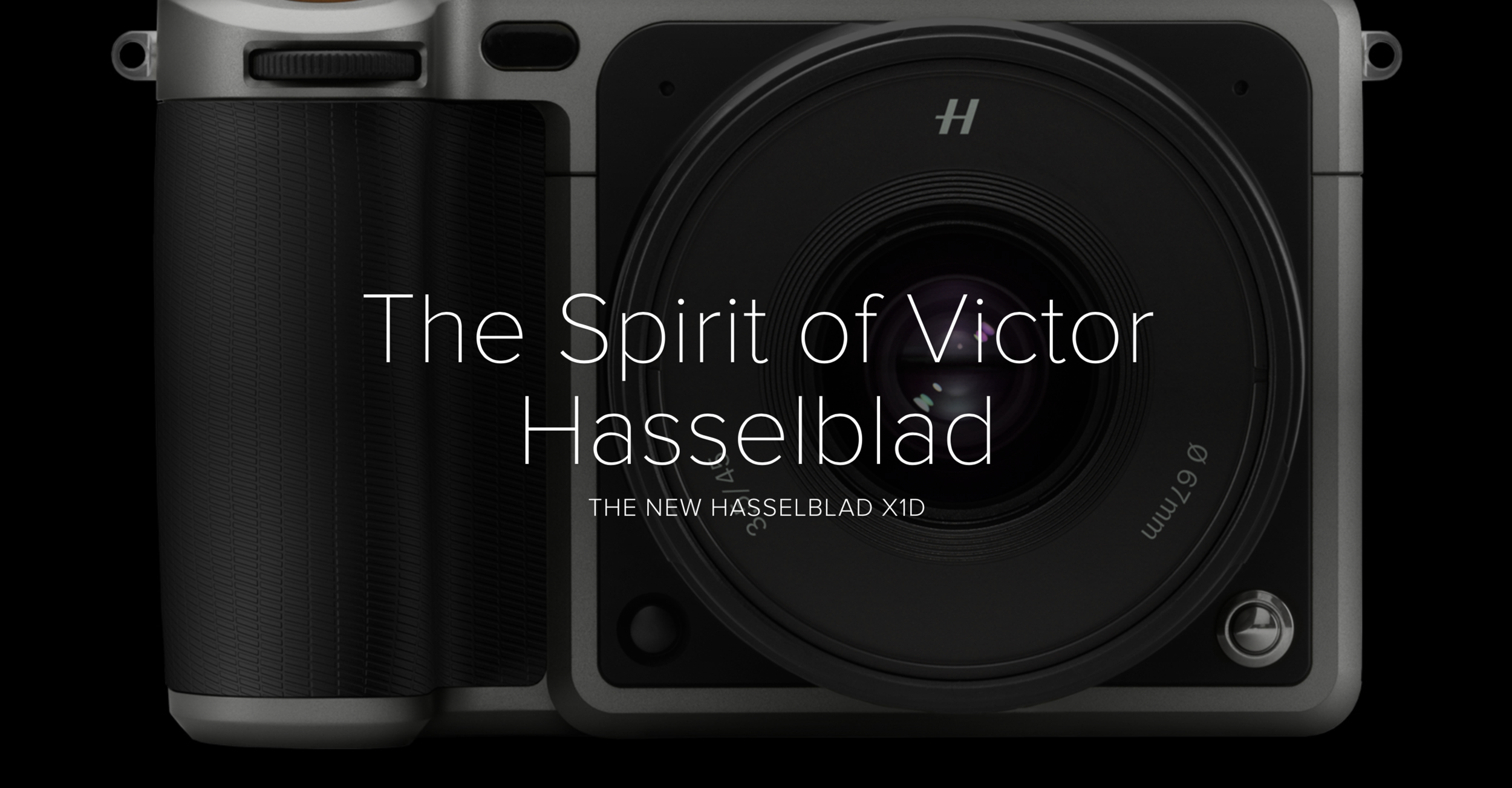 HASSELBLAD X1D - The Spirit of Victor Hasselblad