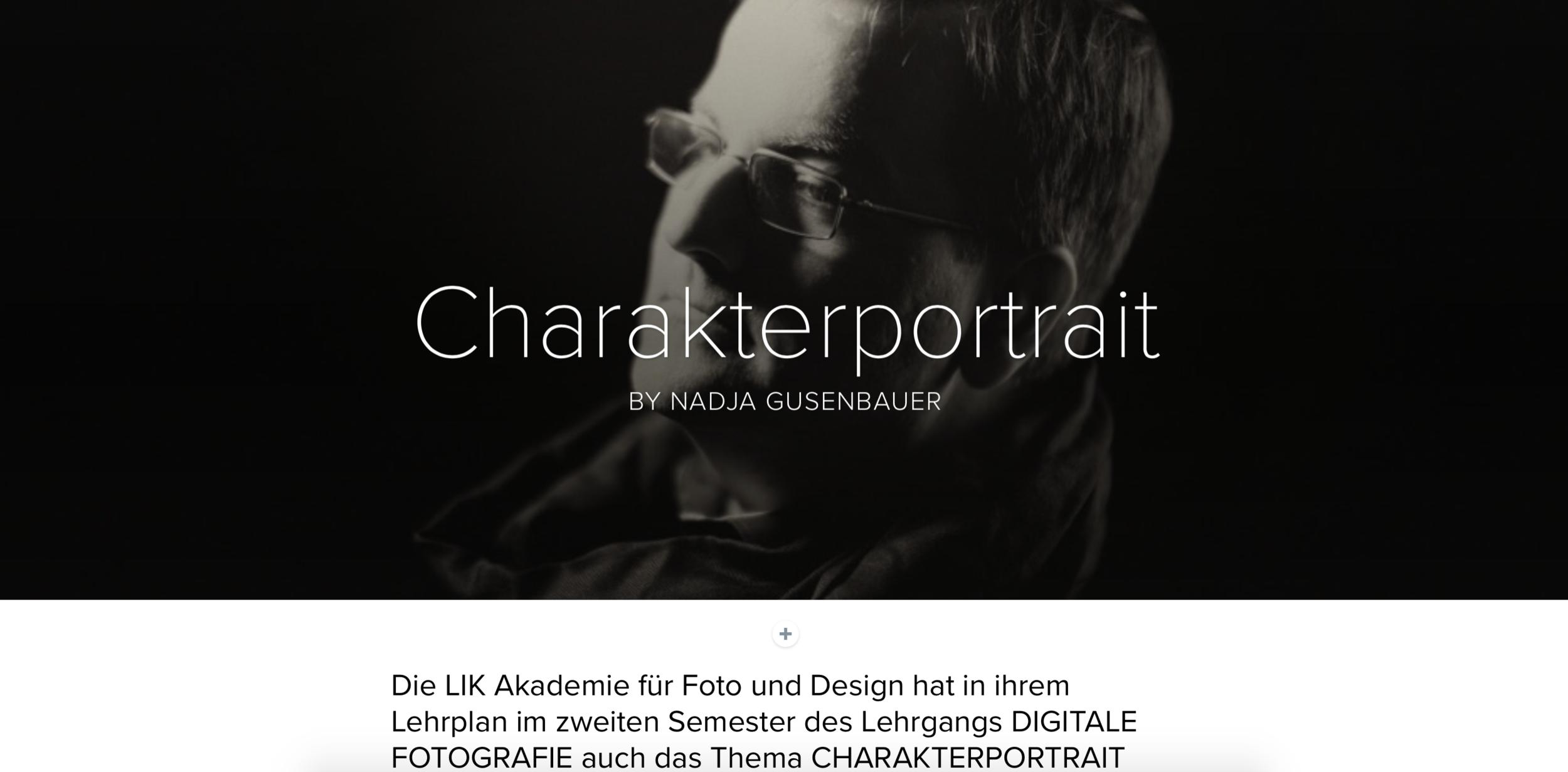 CHARAKTERPORTRAIT - by Nadja Gusenbauer