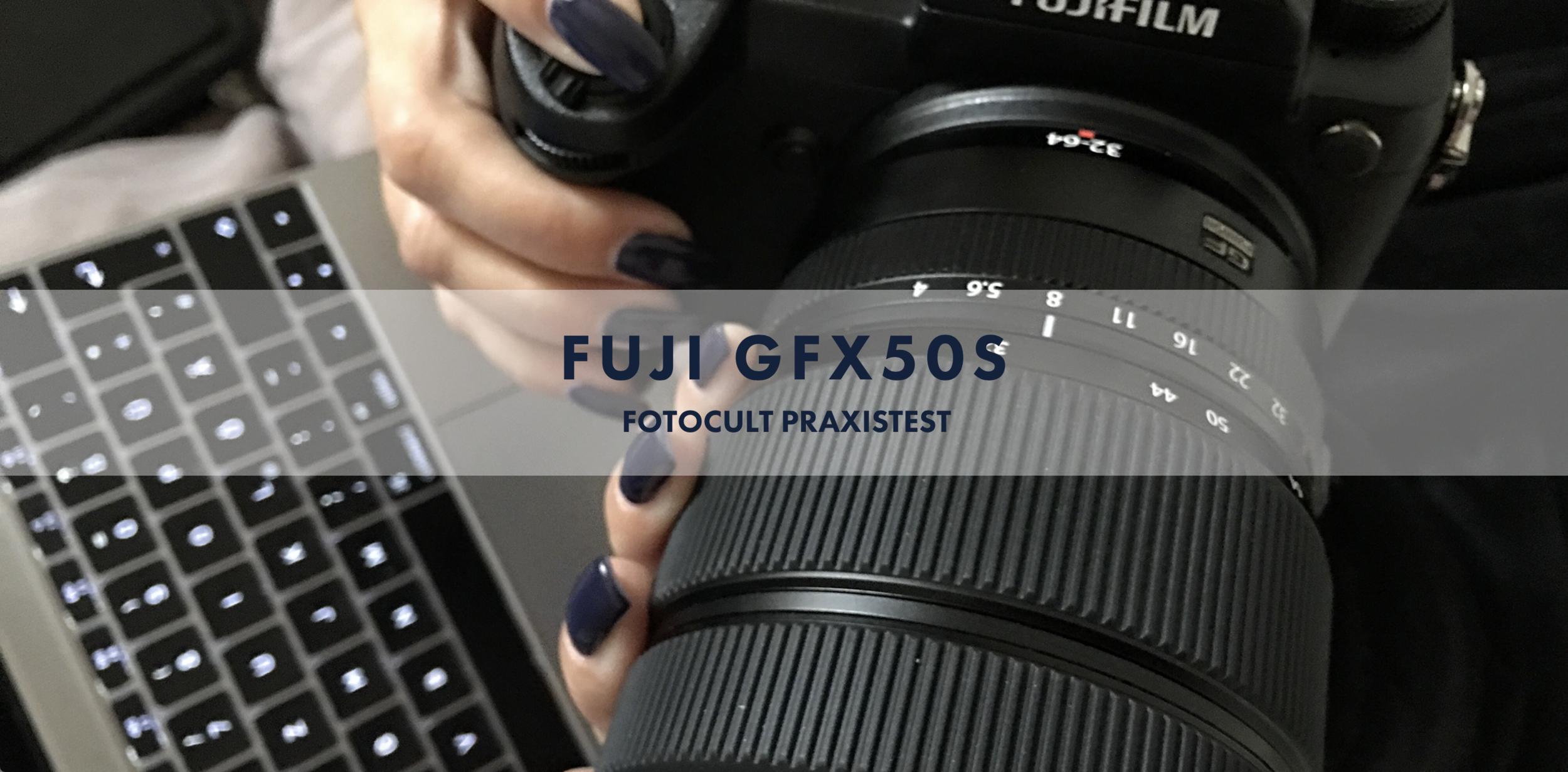 FUJI GFX 50S - Mirrorless Medium Format