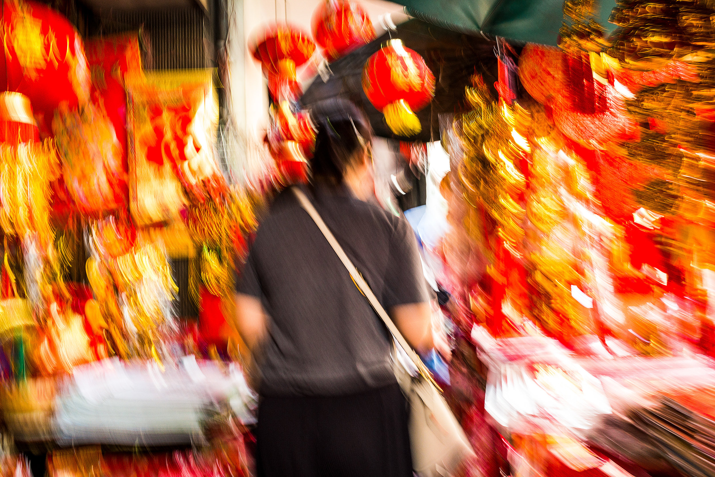 Bangkok China Town - No View Photography