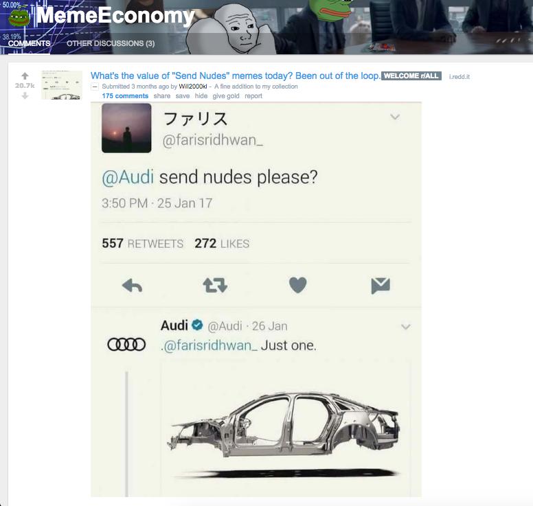 20,700+ Reddit Upvotes -