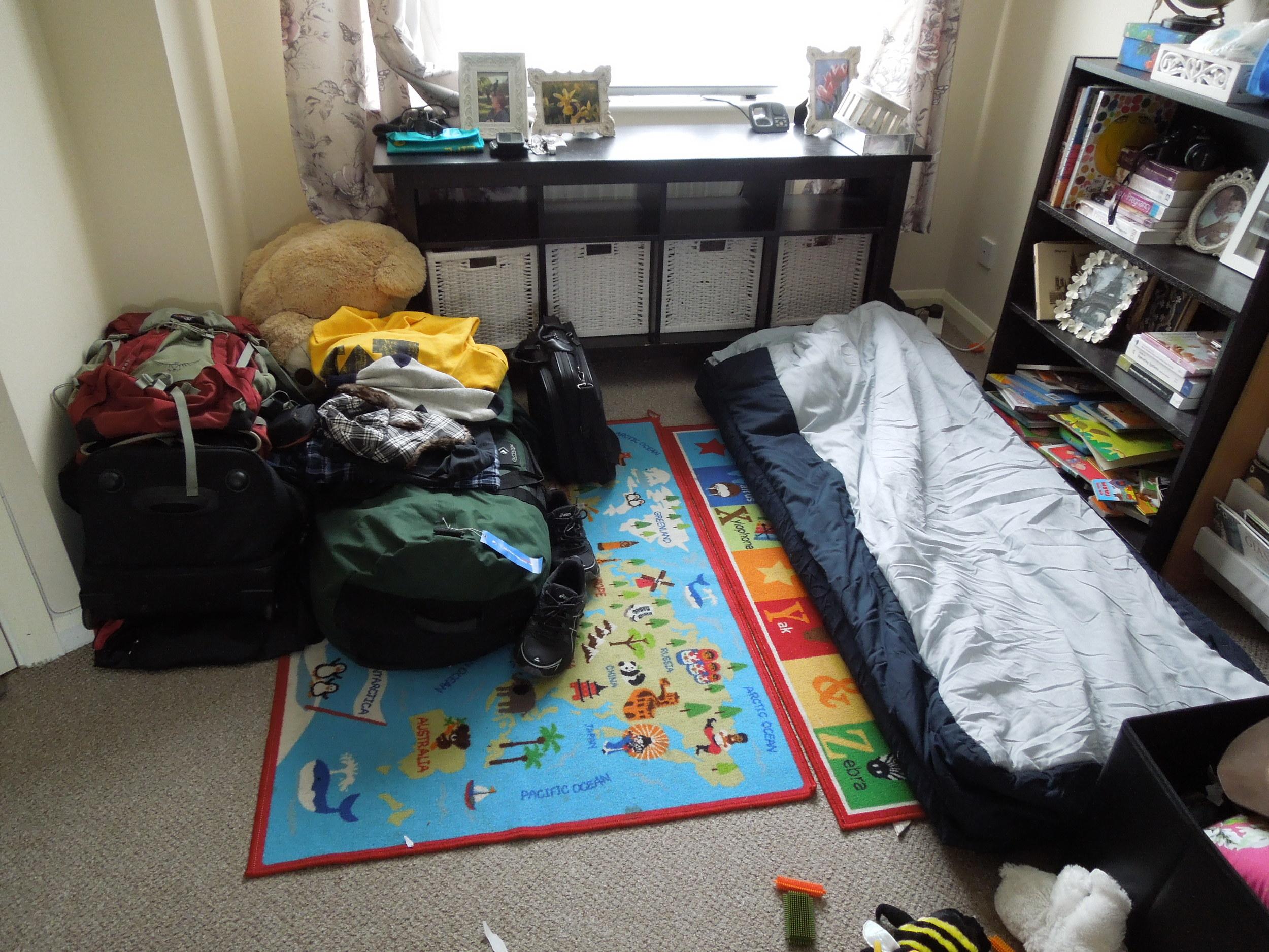 My sleeping quarters