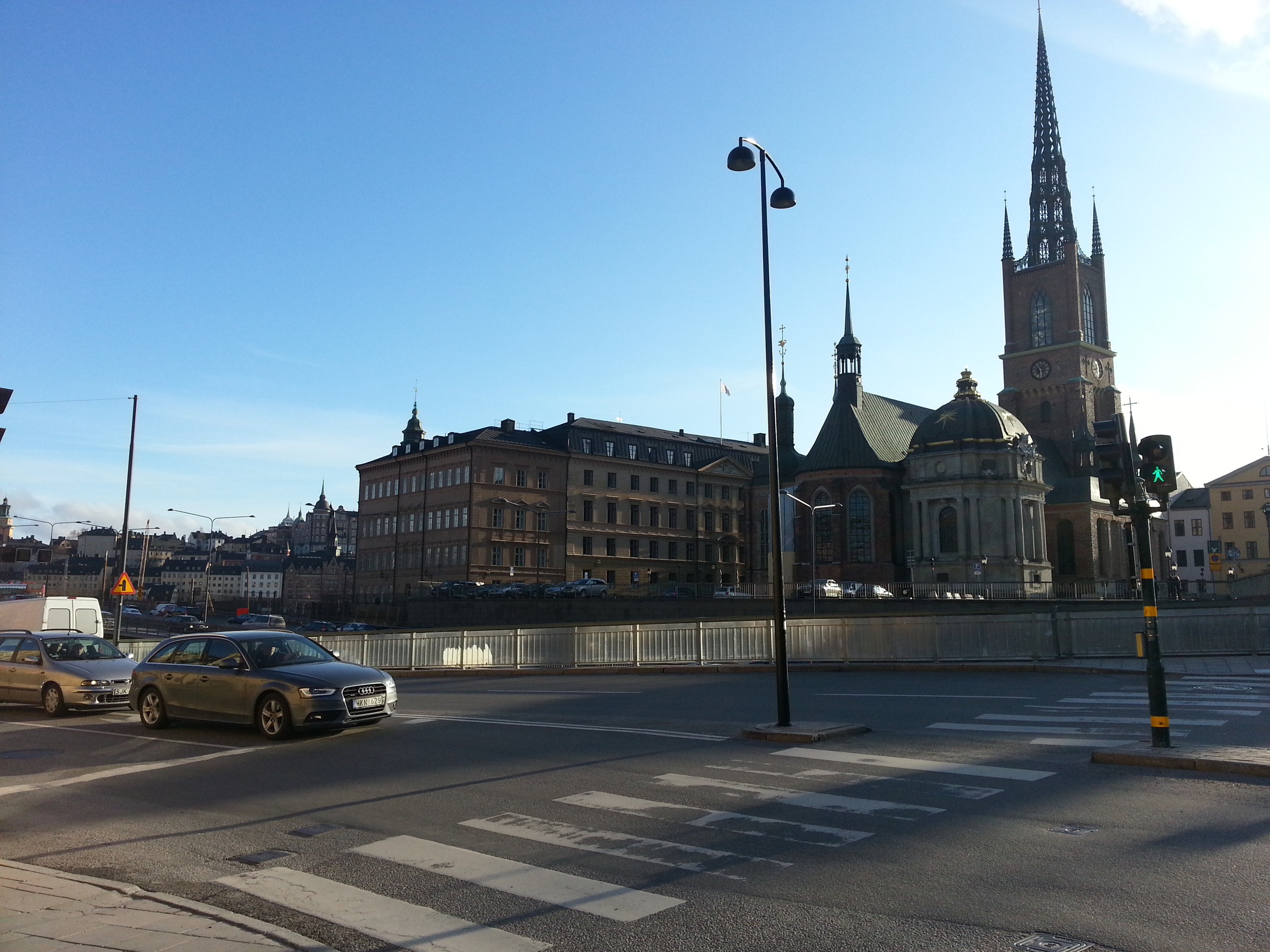 Intersection in Gamla Stan