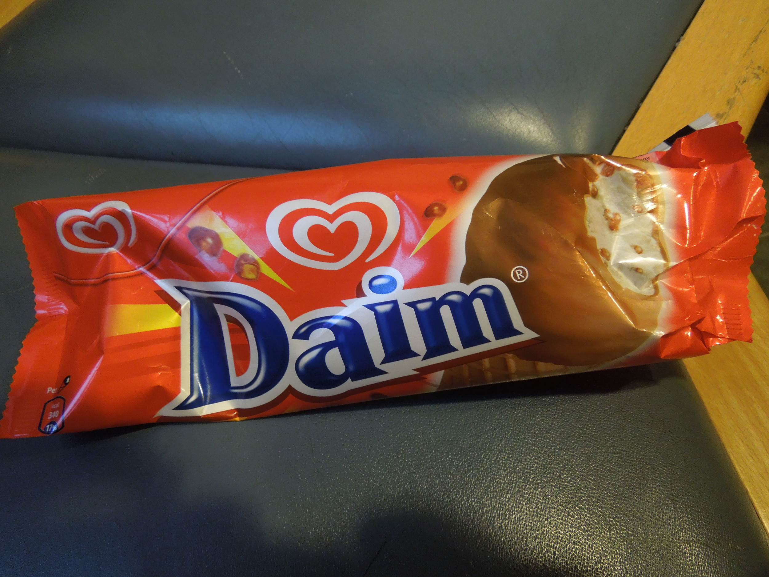 """Daim! (pronounced """"dime""""). My favorite ice cream brand, I'm certifiably addicted to this stuff!"""