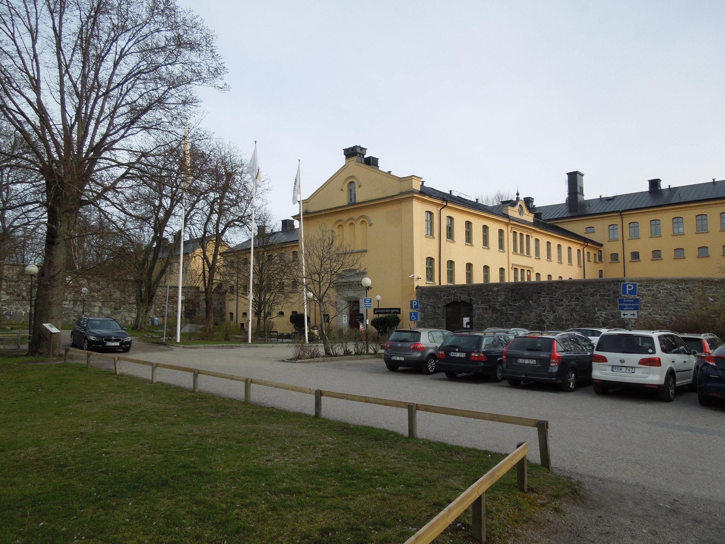 Hostel I am staying at. Långholmen, formally a prison