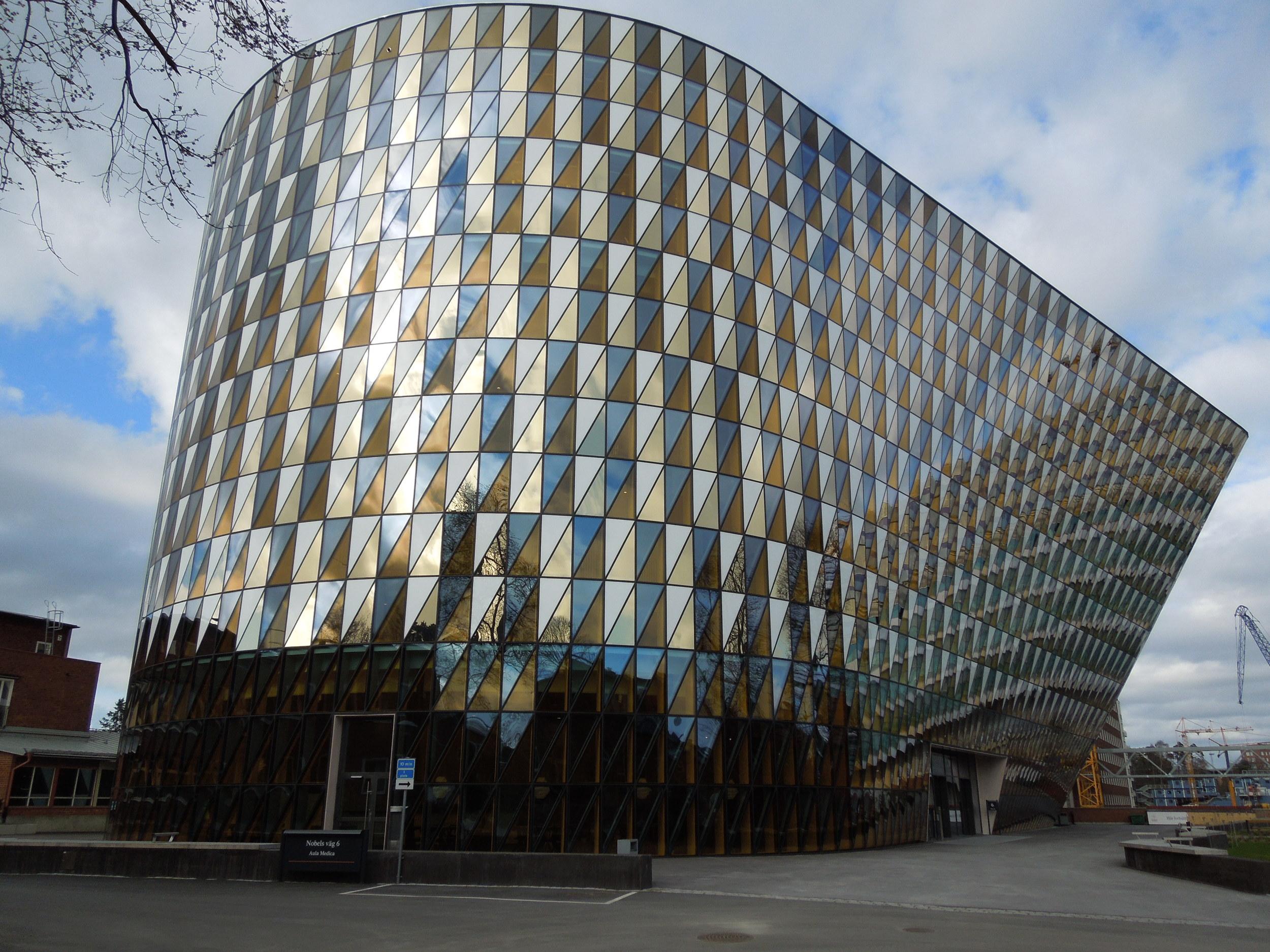 Karolinska Institutet Aula Medica, by Wingårdhs