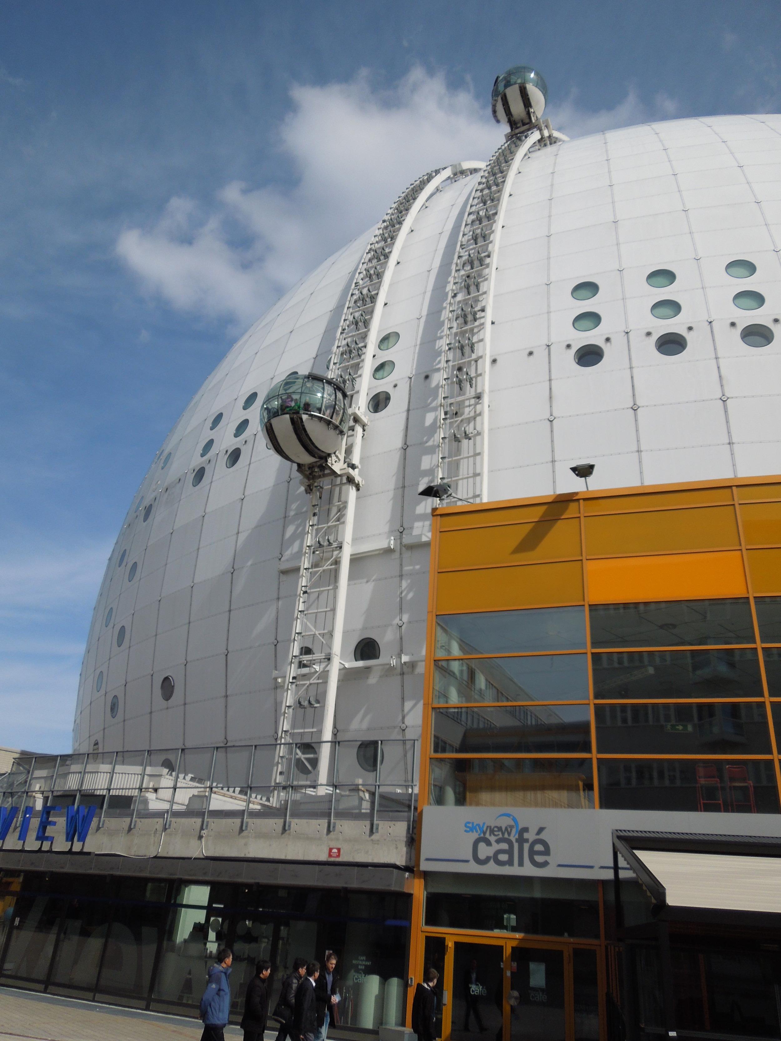 Ericsson Globe, by Berg Architects