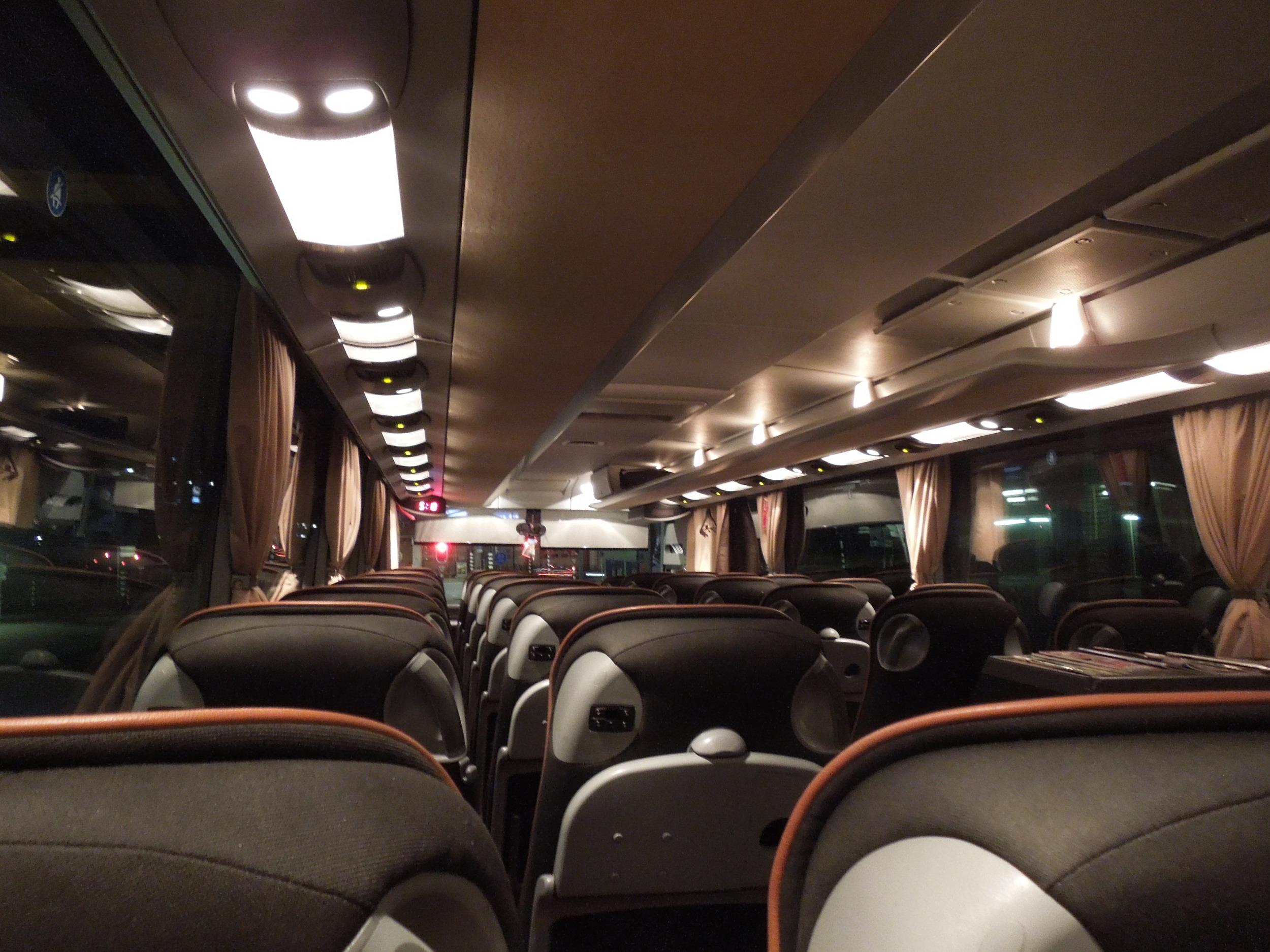Bus from Rotterdam to Copenhagen