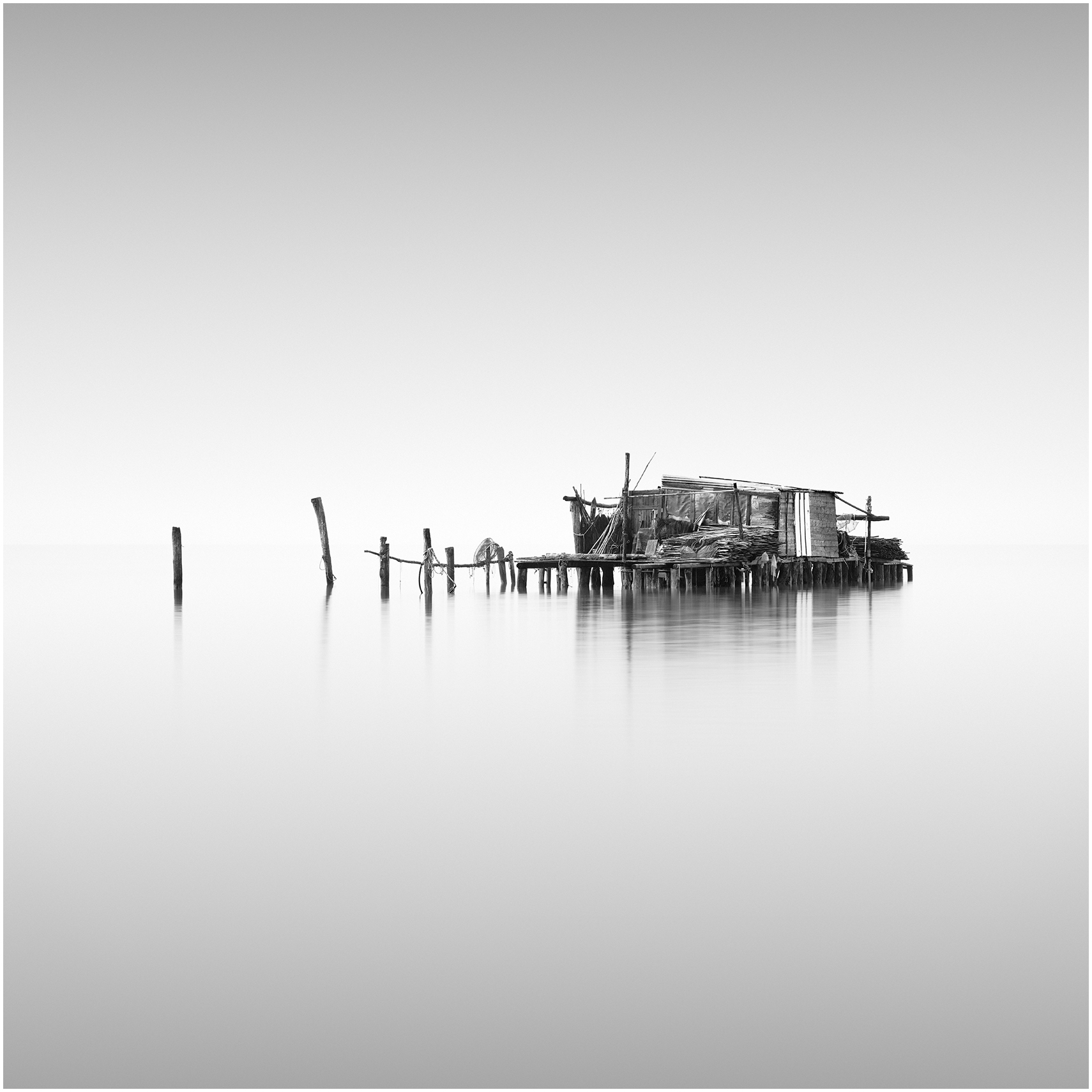 BARACCA - VENICE, ITALY, 2018   LIMITED EDITION OF: 50   framed price (AS SEEN IN THE EXHIBITION) *    £600   print only sizes and prices  35X35 - £195  53X53 - £325 (EXHIBITION SIZE)  70X70 - £425
