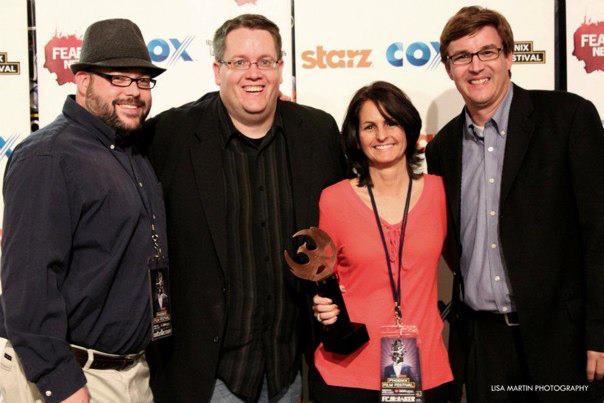 2012 Arizona Filmmaker of the Year    award at the Phoenix Film Festival.